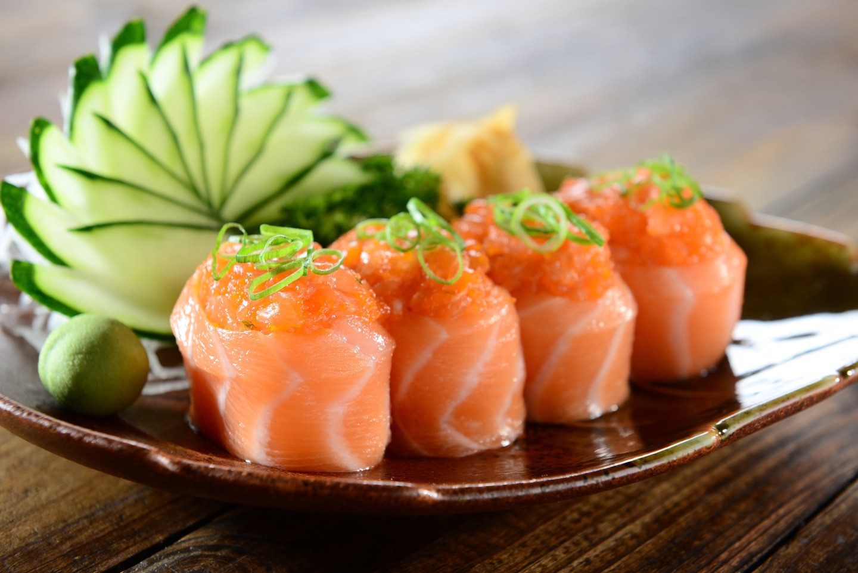Salmon Joe sushi